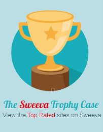 The Sweeva Trophy Case View the Top Rated sites on Sweeva